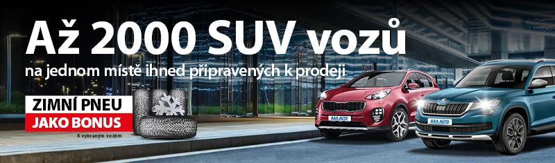 Terénní ojeté vozy - SUV, 4x4, offroad